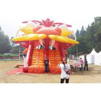 Buy cheap Giant Inflatable Bouncer Slide Customized Color Dragon Shape Theme Dry Slide from wholesalers