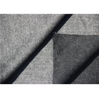 Dark Grey Herringbone Wool Fabric In Stock For Long Winter Coats Mens