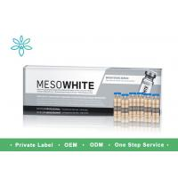Buy cheap Skin Rejuvenating White Brightening MESO Serum For Mesotherapy Gun 5ml from wholesalers
