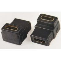 Buy cheap HDMI Female To Hdmi Female Converter Adapter, 90 degree angle type from wholesalers