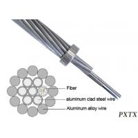 Buy cheap OPGW 144 Strand Outdoor Fiber Optic Cable Composite Overhead Ground Wire from wholesalers
