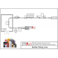 Buy cheap Energy Saving Aerosol Filling Line With Liquid Filling Machine And Aerosol Crimping Machine  from wholesalers