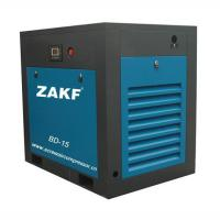 Buy cheap 11KW Mini Industrial screw air compressor machine Blue High quality made in China from wholesalers