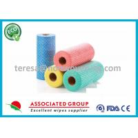 Buy cheap Car Multi Purpose Non Woven Cleaning Wipes Spunlaced Technics Household Application from wholesalers