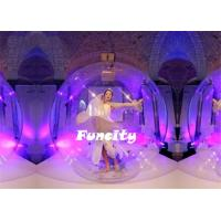 Buy cheap 0.8mm PVC TPU 2M Diameter Inflatable Dancing Ball from wholesalers