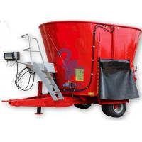 Buy cheap Red Cow Feed Mixer Rotation Machine , High Speed Small Feed Mixer Equipment from wholesalers