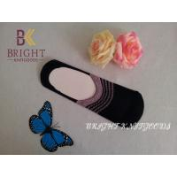 Buy cheap Soft Plain Acrylic Wool Ankle Socks , Black / Pink  Wool Socks from wholesalers