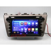 Buy cheap Quad core Android 4.4 Car Stereo GPS Navigation DVD Multimedia Headunit For Mazda 6 Atenz from wholesalers