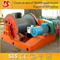 Buy cheap Single drum compact structure winch for tractor from wholesalers