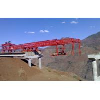 Buy cheap 42m Span Construction And Engineering Launching Gantry Crane 1200t Max Load Capacity from wholesalers
