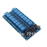 Buy cheap 5V/12V 16 Channel Relay Module Interface Board For Arduino PIC ARM DSP PLC With Optocouple from wholesalers