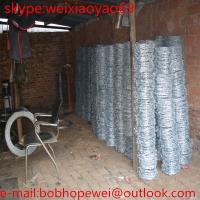 Buy cheap hot dipped stainless galvanized and PVC coated Barbed wire / cheap barbed wire from wholesalers