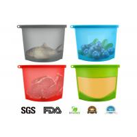 Buy cheap Food Safety , Leak Proof , Reusable , Silicone Food Bag , 1000ml , 1500ml from wholesalers