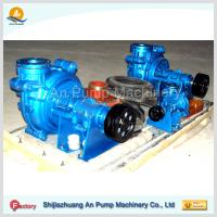 Buy cheap acid resisting rubber slurry sludge mine pump from wholesalers
