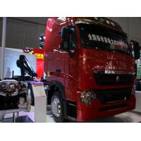 Buy cheap 420 hp howo 6x4 Euro 3 tractor trailer truck / prime mover and trailer for towing goods on Port from wholesalers