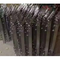 Buy cheap New Design Polished/Hairline/Stain Finish 304 Stainless Steel baluster Corridor Glass Stair Handrail from wholesalers