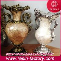 China Polyresin/Resin home Decoration antique vase on sale