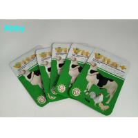 Buy cheap Logo Customized Pet Food Pouch , Gree Color Food Packaging Bags For Animals from wholesalers
