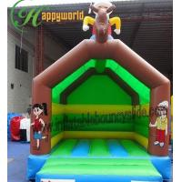 Buy cheap Rent Happy Hop Inflatable Jumping Castle For Children PVC EN14960 from wholesalers