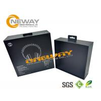 Buy cheap Customization Headphone Electronic Packaging Box With Customization Logo Made Of Art Paper from wholesalers