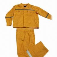 Buy cheap Men's Work Wear with 2-piece Up and Bottom from wholesalers