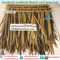 Buy cheap wholesale plastic palm artificial synthetic palm thatch tiki hut palapa 54 from wholesalers