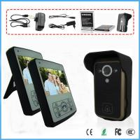 Buy cheap 3.5 Inch Intercom Doorbell PIR Motion Detection 1V2 Wireless Video Door Phone from wholesalers