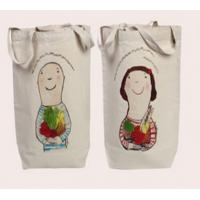 Buy cheap promotional colorful cotton wine bag product