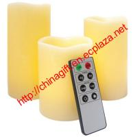 Buy cheap Remote Control Wax Candle Set (3 pack) from wholesalers