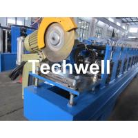Buy cheap 13 Forming Stations Roller Shutter Door Cold Roll Forming Machine With Manual Decoiler from wholesalers
