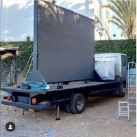 Buy cheap Front Accesss P6.67 Outdoor Truck LED Display Trailer with Hydraulic Lifting system from wholesalers