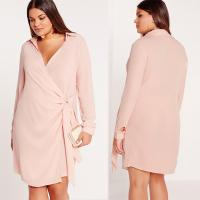 Buy cheap New Design Nude Plus Size Shirts & Blouses Sexy Cross Dress from wholesalers