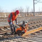 Buy cheap Stone Rail Saws Rail Cutting Machine Din Rail Cutter Machine from wholesalers