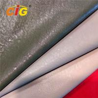 Buy cheap Wear Resistant 30% Polyester 70% PU Synthetic Leather For Garments 150cm Width from wholesalers