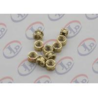 Buy cheap OEM ODM CNC Machining Parts , Swiss Lathe Turning Brass Knurled Nuts with M5 Thread product