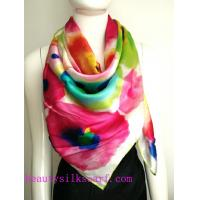 Buy cheap 100% Silk Scarf, girl's gift, Silk twill scarves,Top high quality silk fabric roll factory from wholesalers