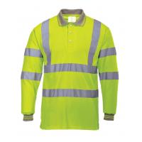 Buy cheap Hi Vis Polo shirt Reflective Safety Workwear from wholesalers