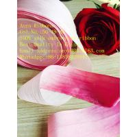 Buy cheap 32mm 50-49-46  variegated silk ribbon,multicolor ribbon,rainbow 100% silk ribbon,ribbon,embroidery ribbon from wholesalers
