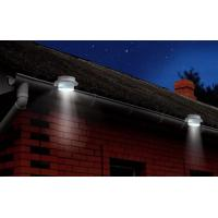 High Lumen Outdoor Solar Gutter Led Lights 2pk Mounting