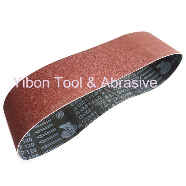 Buy cheap GXK51 Aluiminum oxide abrasive sanding belt for Furniture from wholesalers