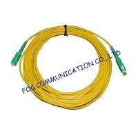 Buy cheap High Stability Fiber Optic Cable Assembly , CATV System SM Simplex SC SC Patch Cord​ from wholesalers