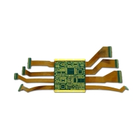 Buy cheap CE FCC RoHS 6OZ Green Yellow  48 Layer Rigid Flexible PCB from wholesalers