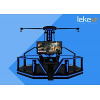 Buy cheap Attractive Virtual Reality Walking Platform / 9d Simulator Experience For Theme Park from wholesalers