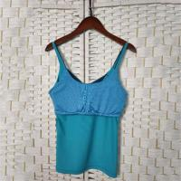 Buy cheap Blue Tight Seamless & Sports Garment , Sexy Women's Yoga Tank Top from wholesalers