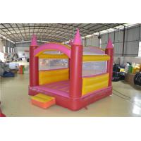 Buy cheap Red And Yellow Customized Inflatable Sports Games For Kids CE from wholesalers