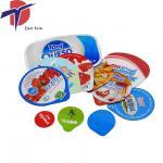 Buy cheap Food grade cup aluminum foil seals, heat sealing machine used aluminium foil lids from wholesalers