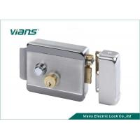 Buy cheap Double Lock Cylinder Electric Rim Lock Turn Left or Turn Right to Open the Door from wholesalers