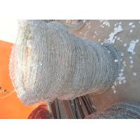 Buy cheap Q195 High Tensile Barbed Wire , Double Strand Barbed Wire For Security Fence from wholesalers