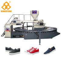Buy cheap 20 Stations Servo System Adopted PVC shoes making machine for sport shoes lasure shoes from wholesalers