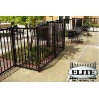 China Wholesale farm horizontal aluminum fencing post privacy grill fence on sale